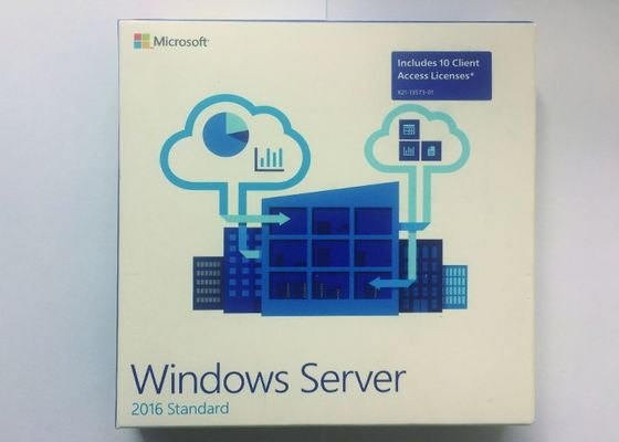 FPP Paketi 64Bit Windows Server 2016 Standart Oem İngilizce 1 Gigahertz